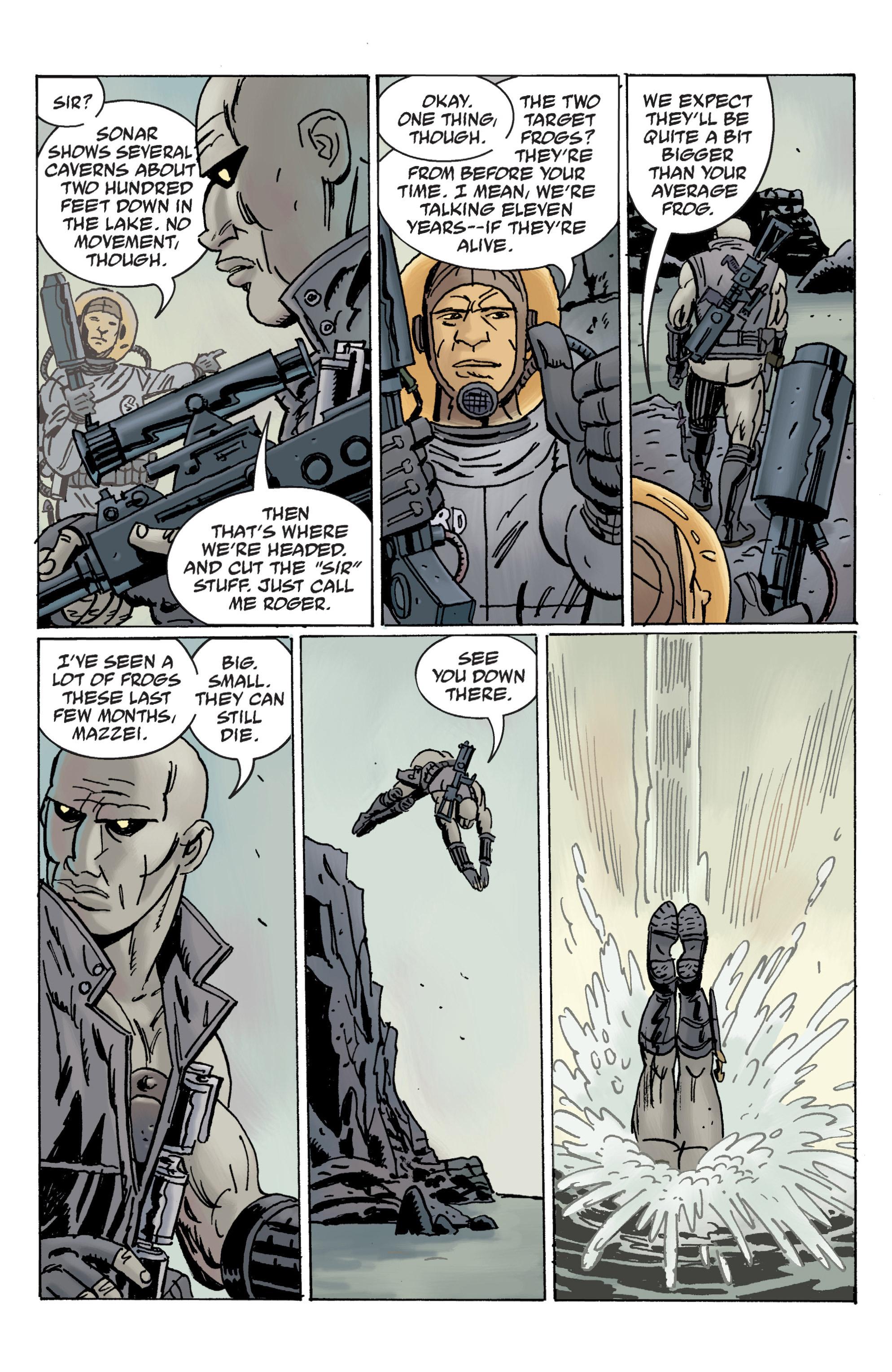 Read online B.P.R.D. (2003) comic -  Issue # TPB 12 - 13