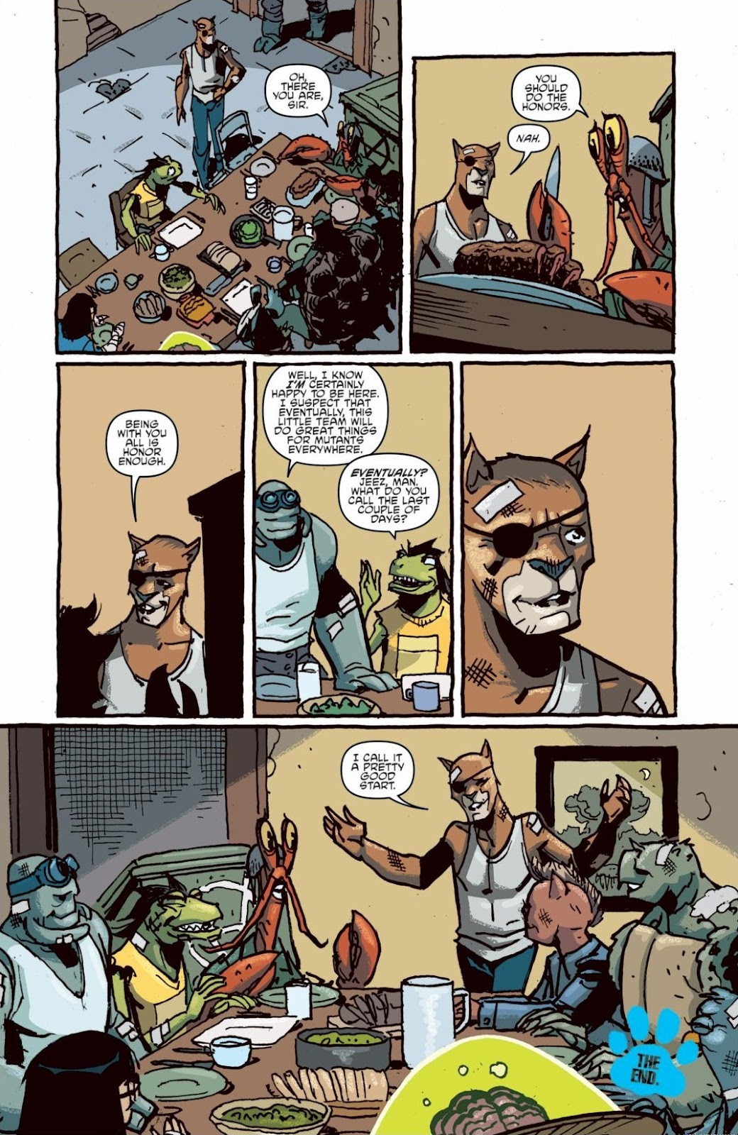 Read online Teenage Mutant Ninja Turtles: The IDW Collection comic -  Issue # TPB 6 (Part 1) - 99