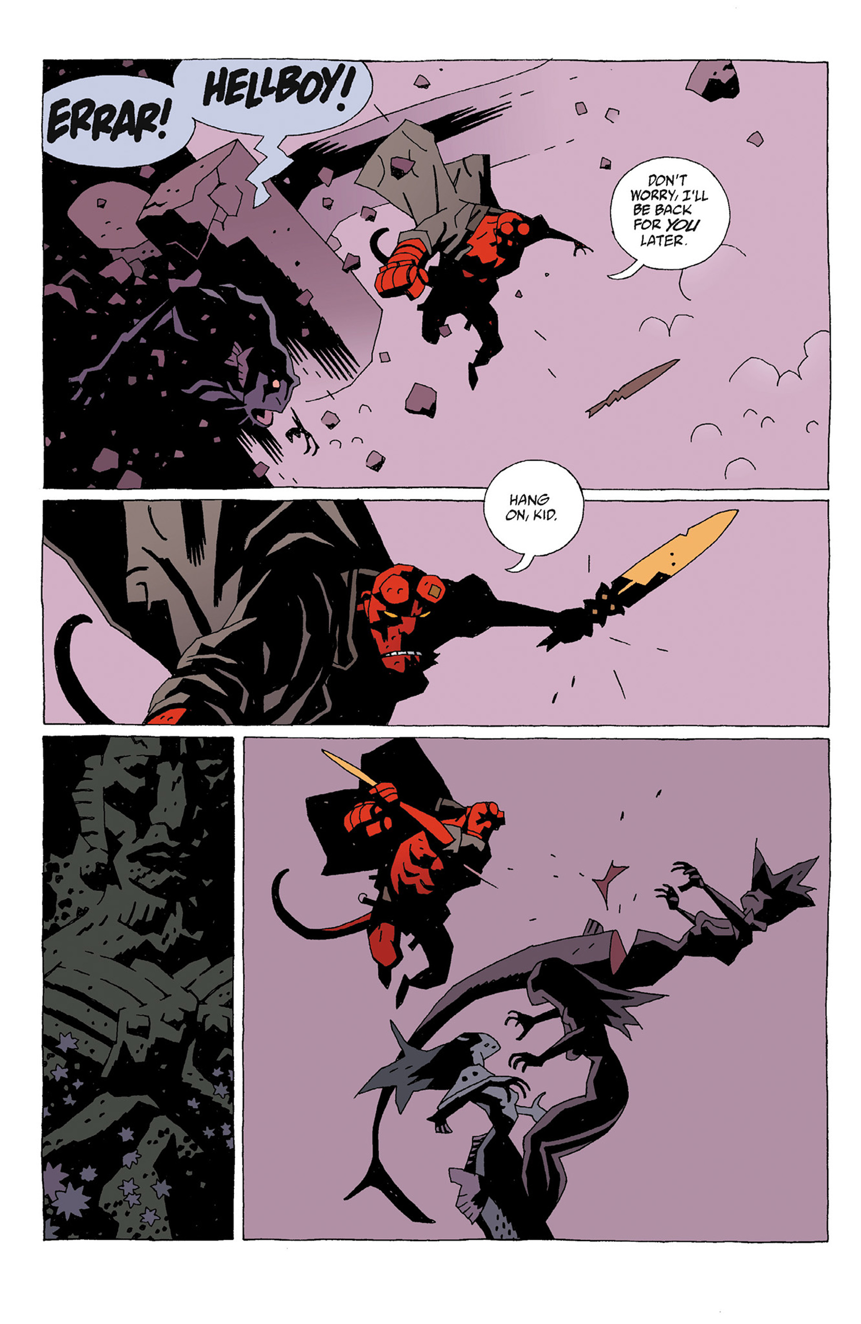 Read online Hellboy: Strange Places comic -  Issue # TPB - 56