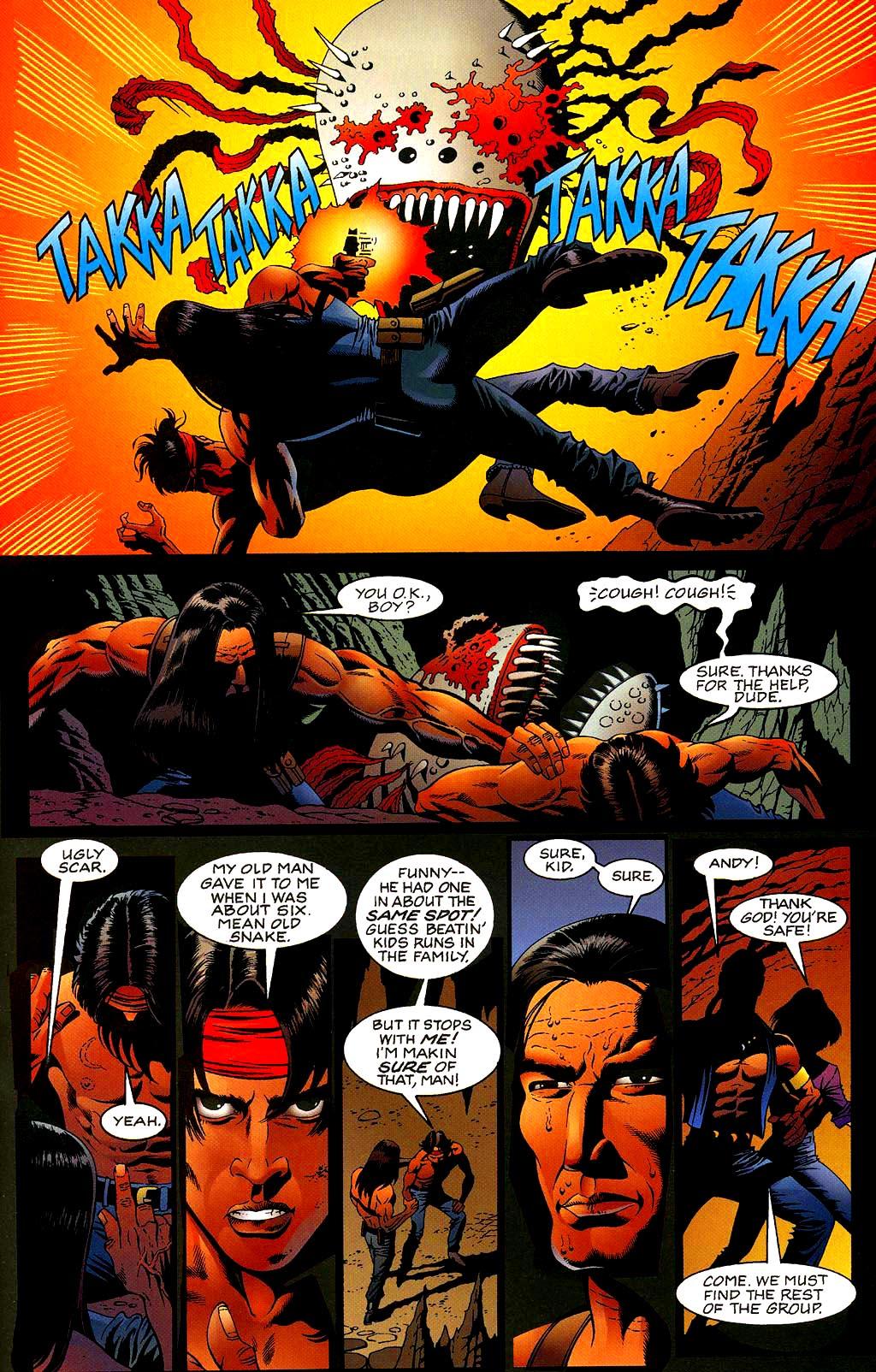 Read online Turok, Dinosaur Hunter (1993) comic -  Issue #40 - 14