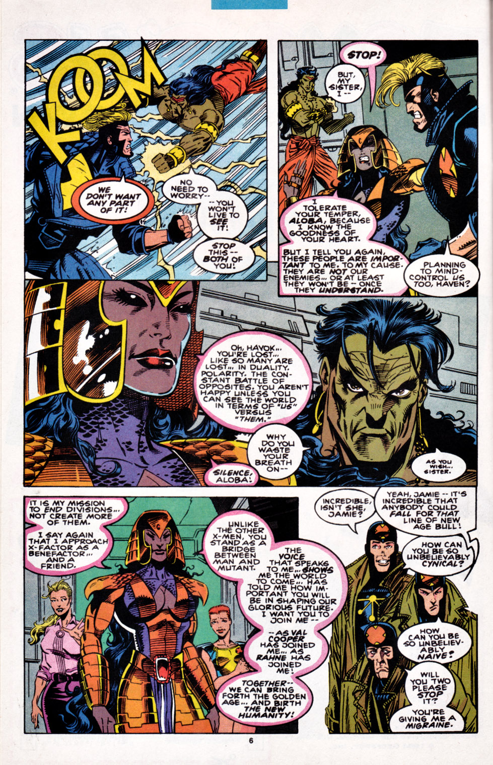 Read online X-Factor (1986) comic -  Issue #100 - 6