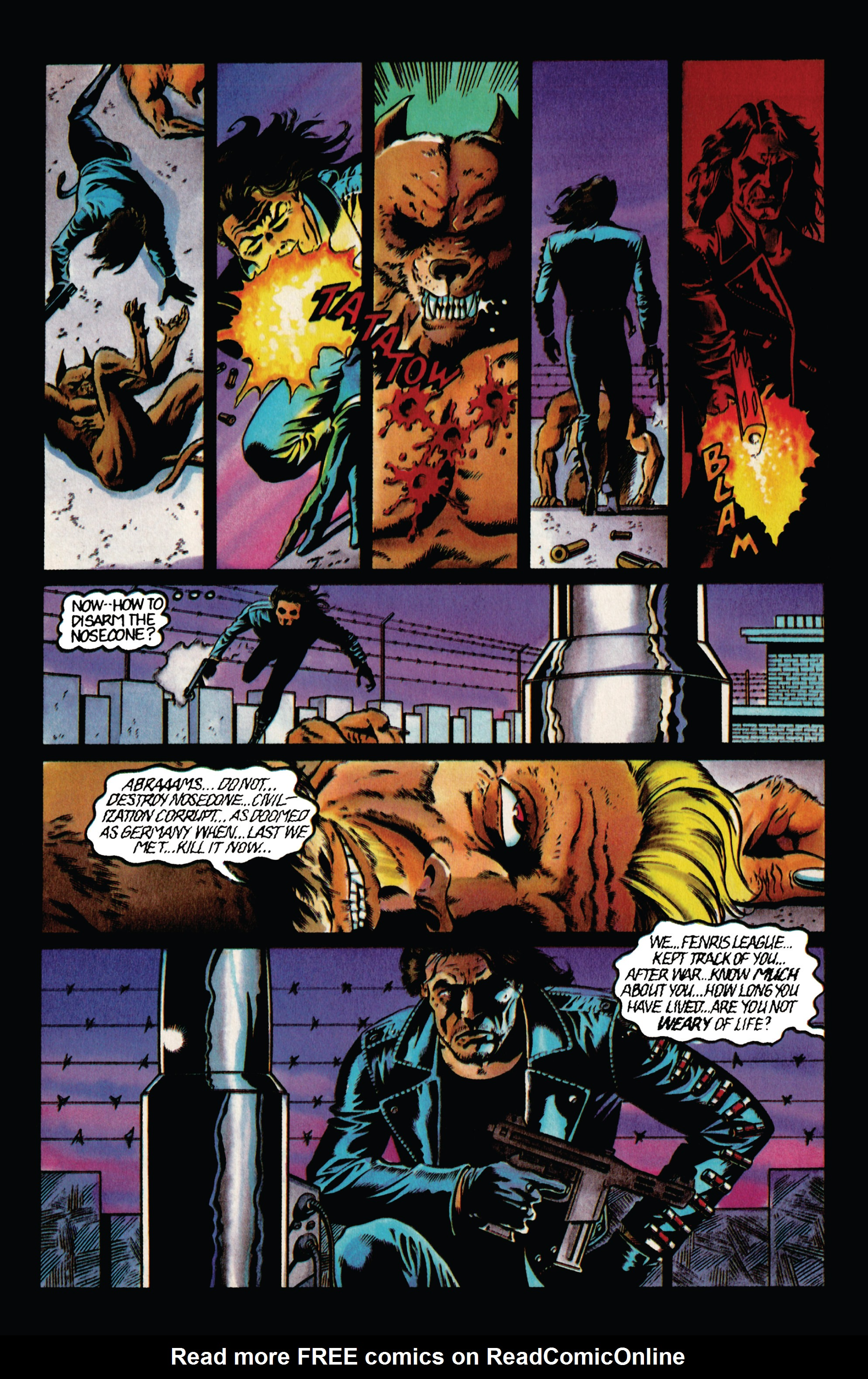 Read online Eternal Warrior (1992) comic -  Issue #36 - 18