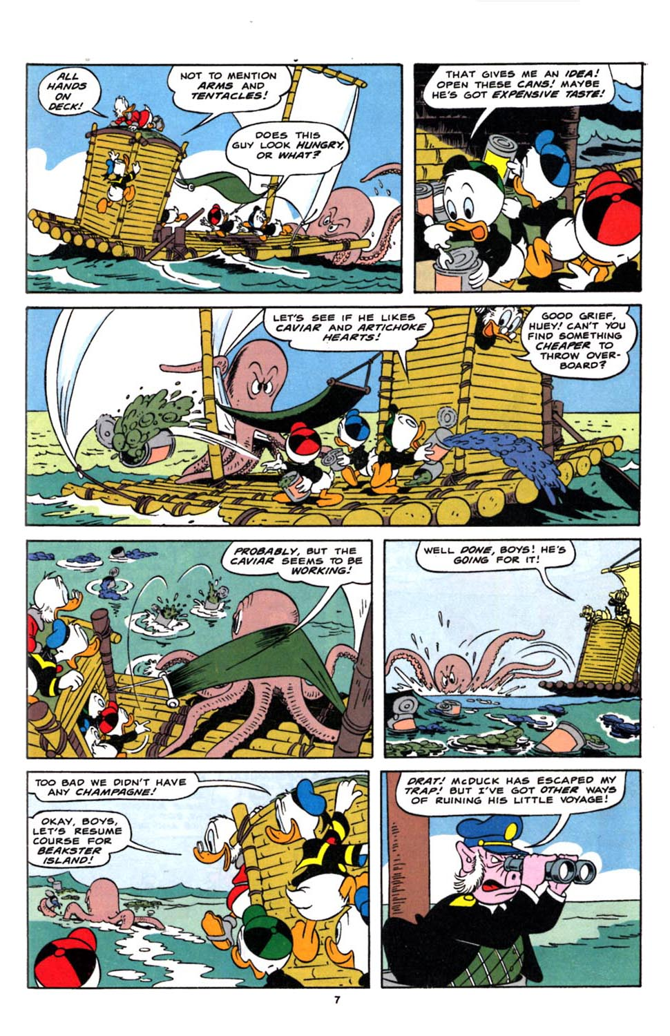 Read online Uncle Scrooge (1953) comic -  Issue #244 - 9