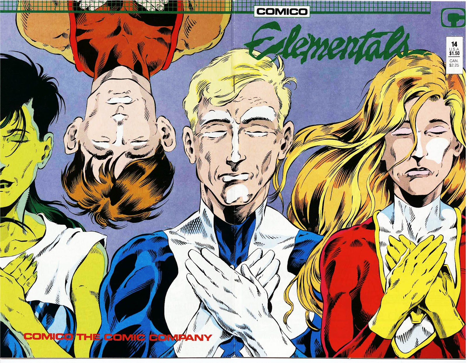 Elementals (1984) issue 14 - Page 1