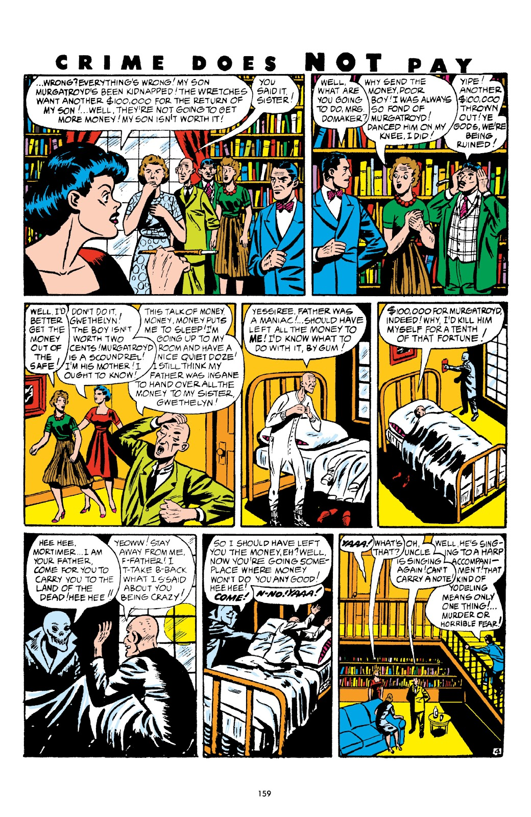 Read online Crime Does Not Pay Archives comic -  Issue # TPB 5 (Part 2) - 59
