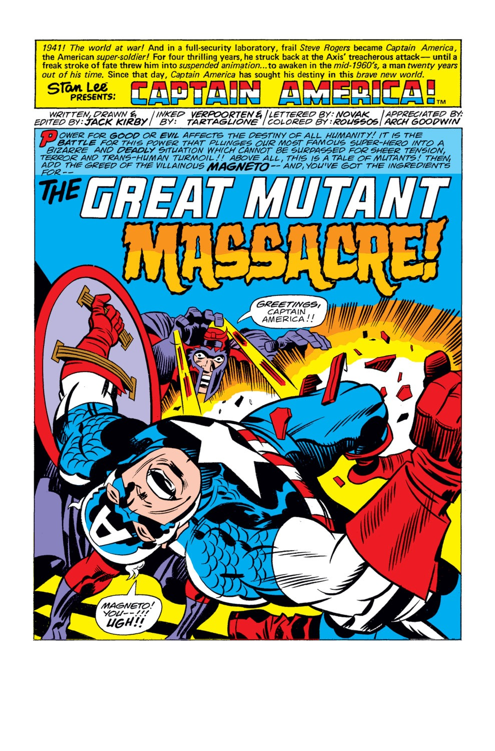 Read online Captain America (1968) comic -  Issue # _Annual 4 - 2