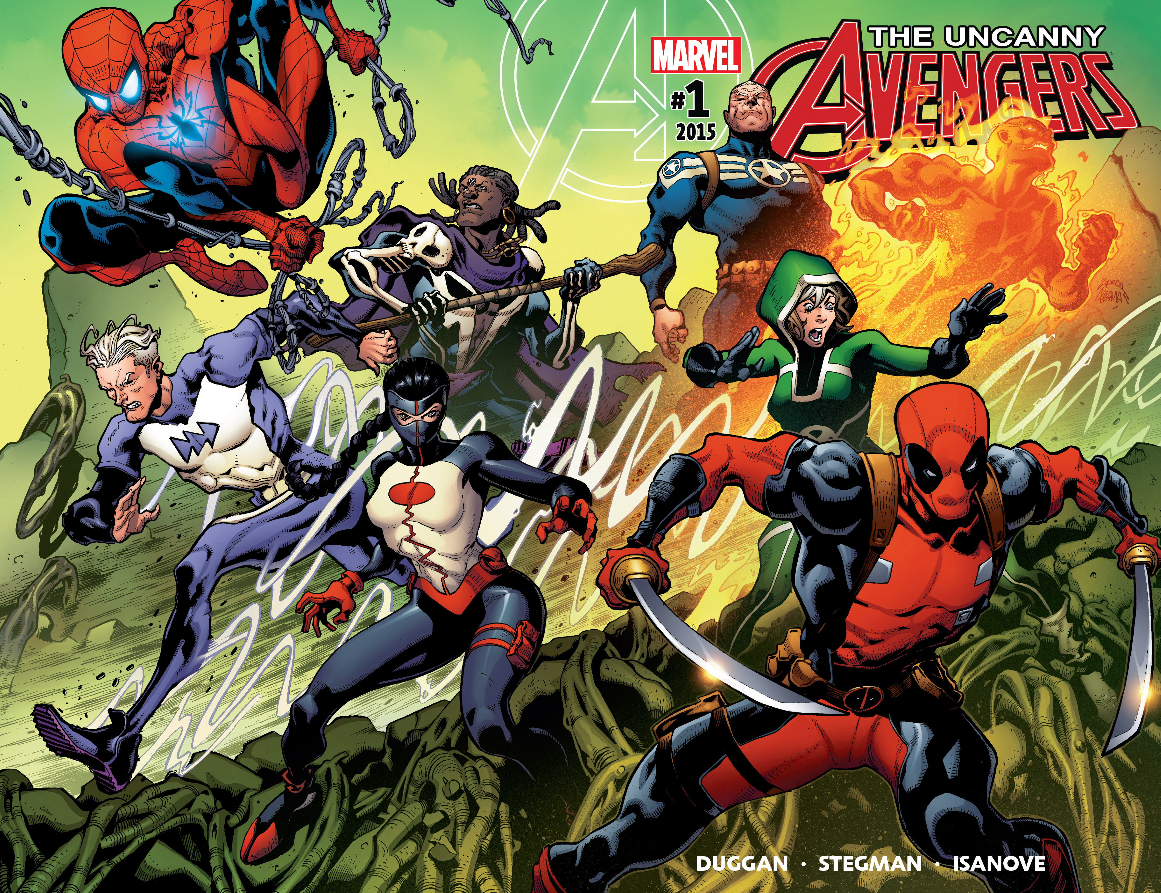 Read online Uncanny Avengers [II] comic -  Issue #1 - 2