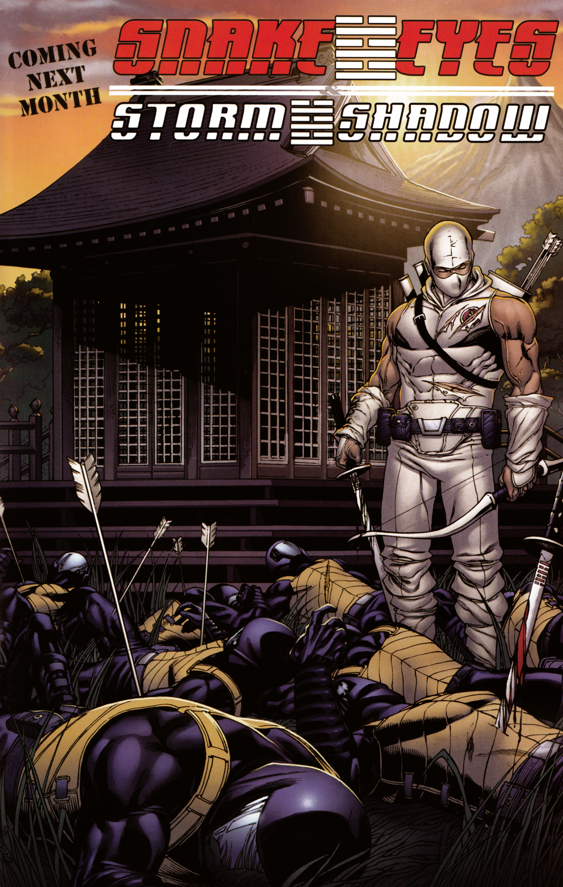 Read online Snake Eyes and Storm Shadow comic -  Issue #20 - 25