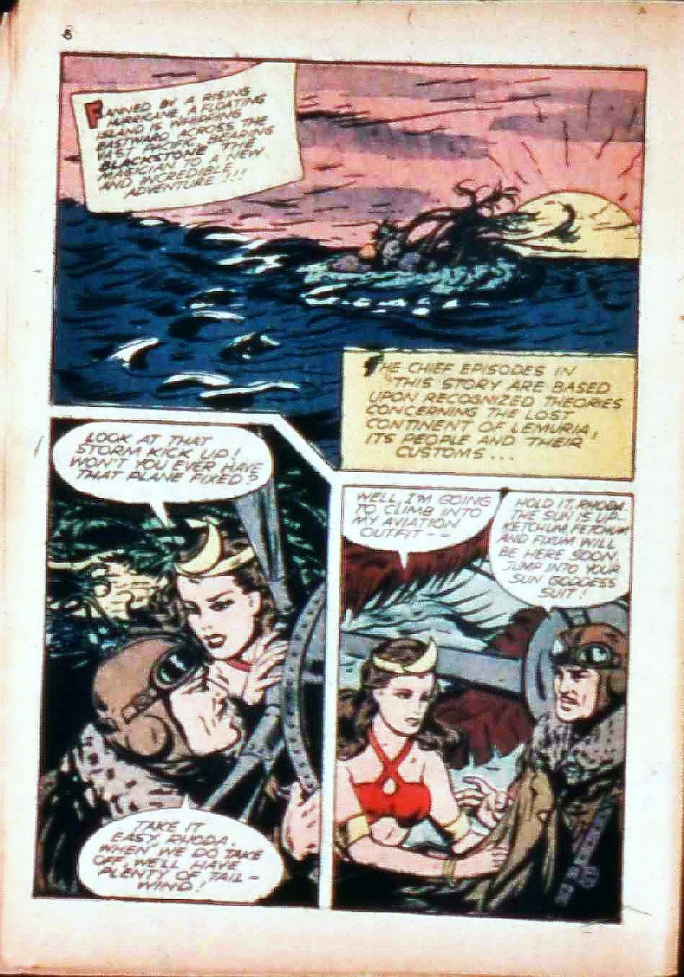 Read online Super-Magician Comics comic -  Issue #17 - 6