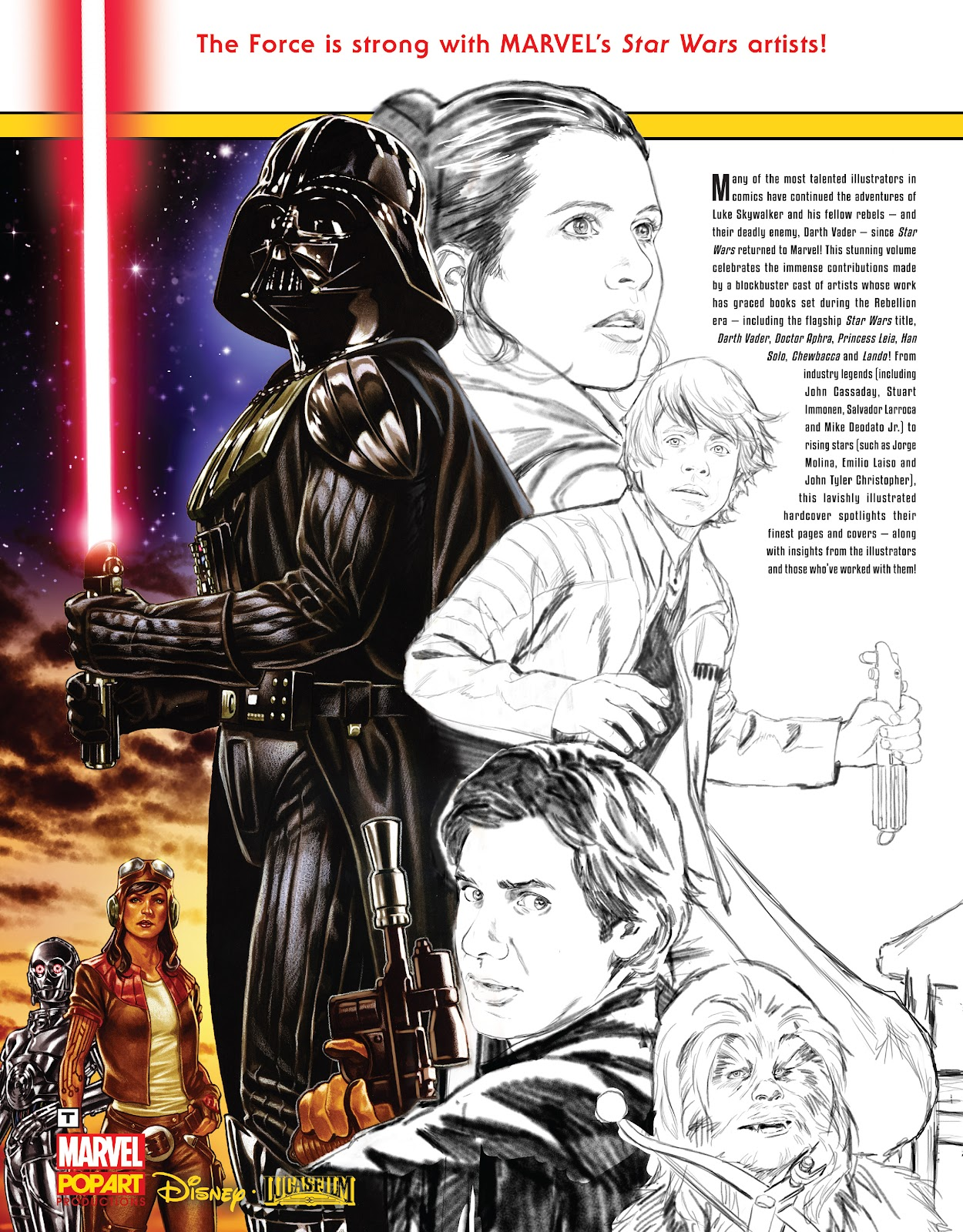 Read online The Marvel Art of Star Wars comic -  Issue # TPB (Part 2) - 99