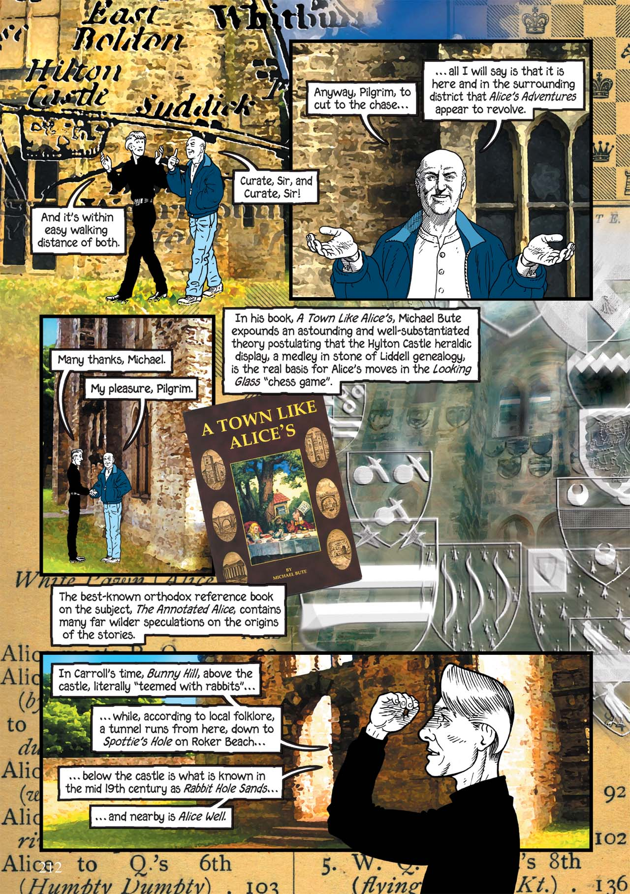 Read online Alice in Sunderland comic -  Issue # Full - 216
