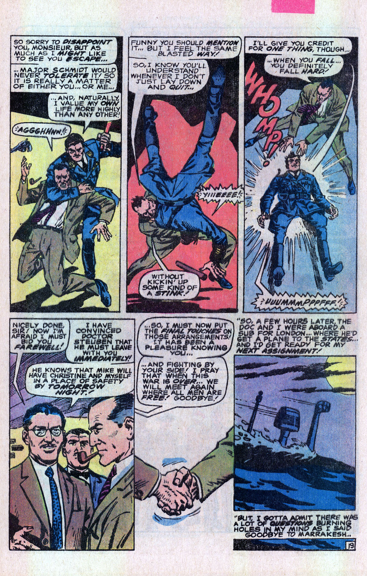 Read online Sgt. Fury comic -  Issue #166 - 28
