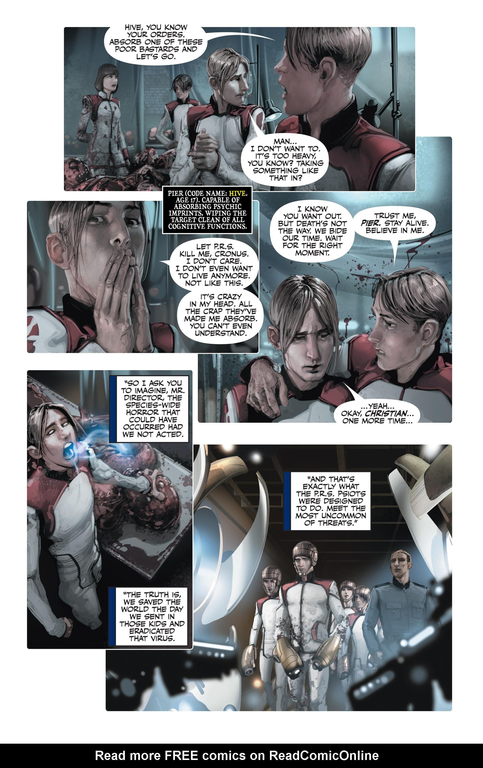 Read online Armor Hunters: Harbinger comic -  Issue # TPB - 86