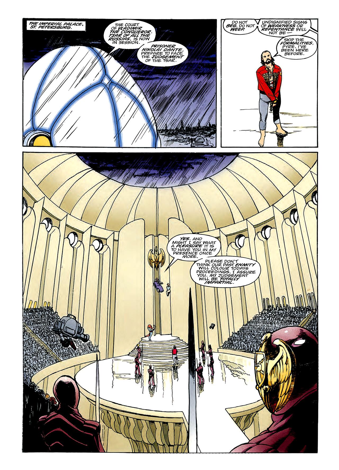 Read online Nikolai Dante comic -  Issue # TPB 3 - 85