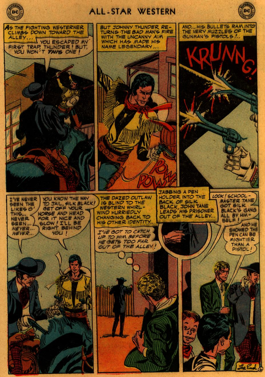 Read online All-Star Western (1951) comic -  Issue #89 - 34