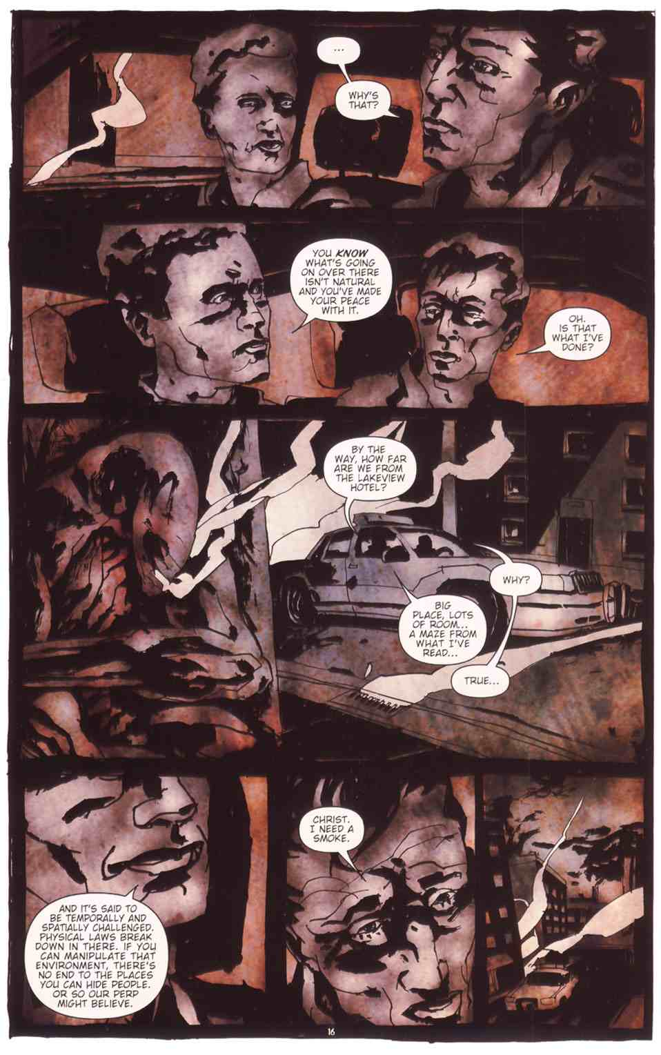 Read online Silent Hill: The Grinning Man comic -  Issue # Full - 18