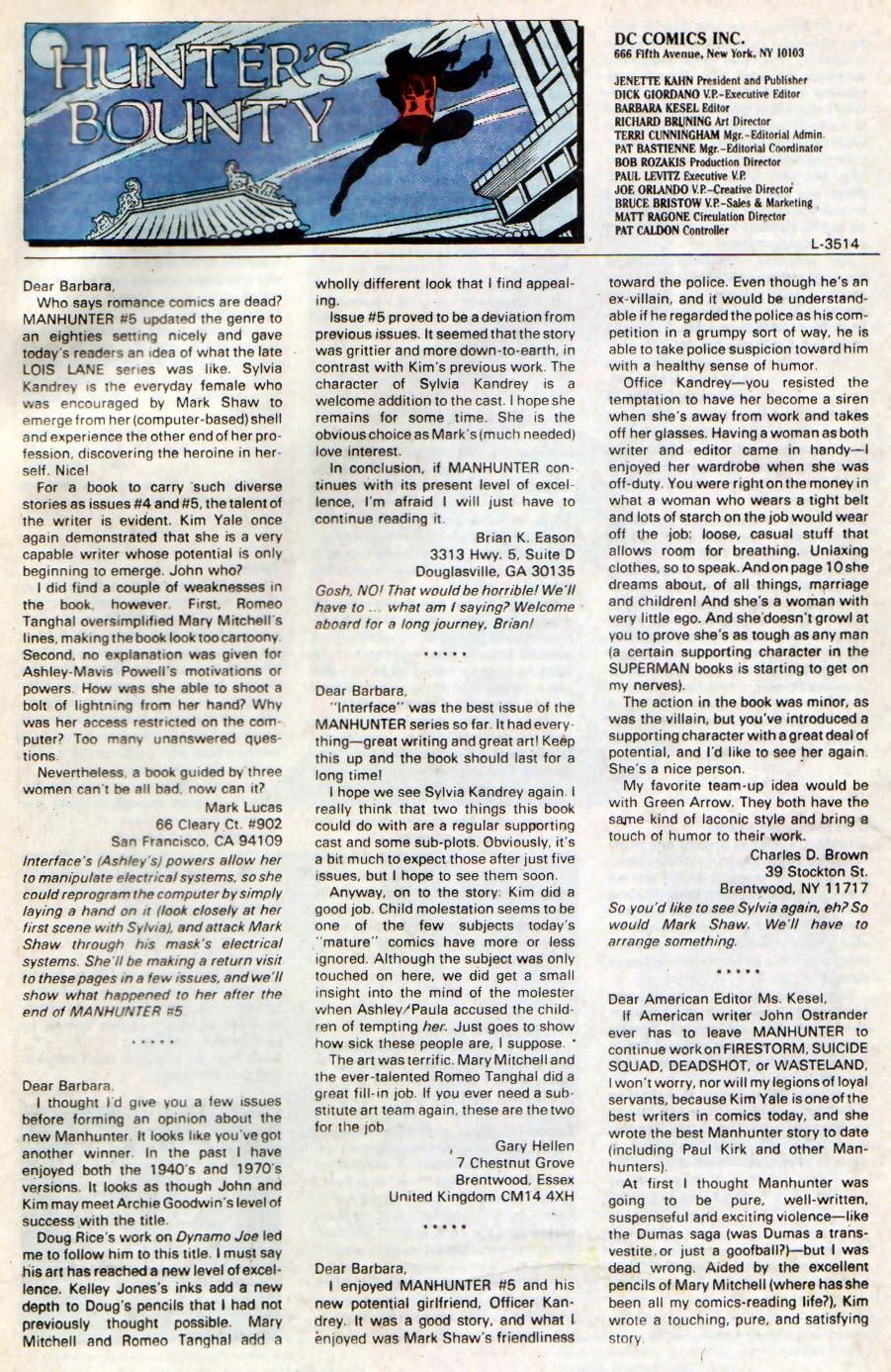 Manhunter (1988) issue 9 - Page 24