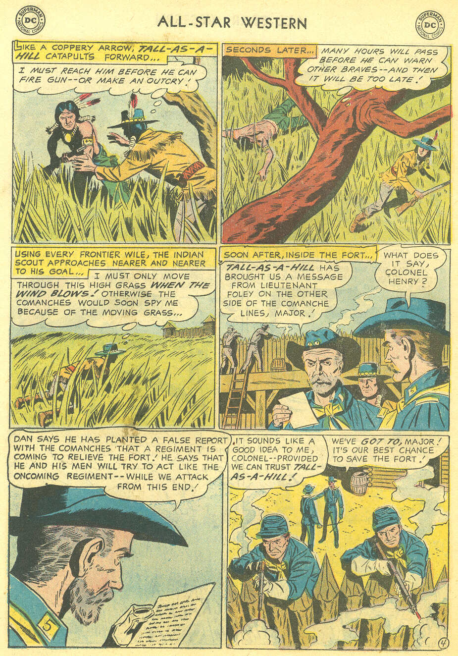 Read online All-Star Western (1951) comic -  Issue #95 - 22