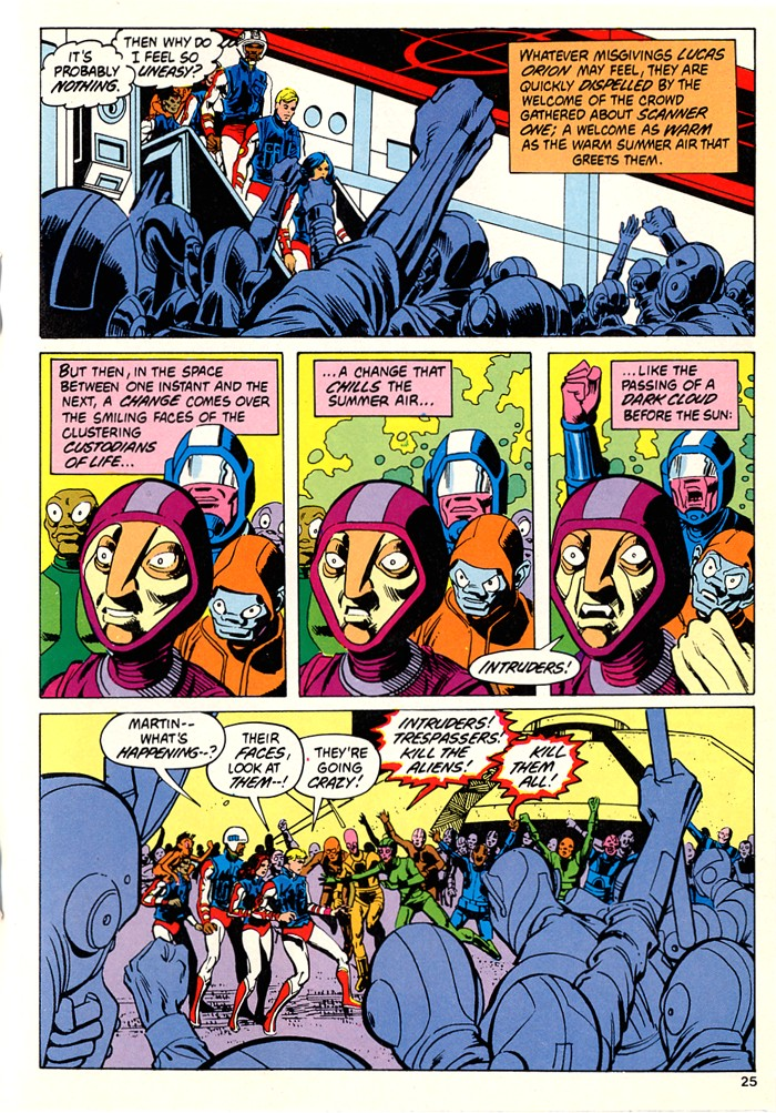 Read online Atari Force (1982) comic -  Issue #5 - 27