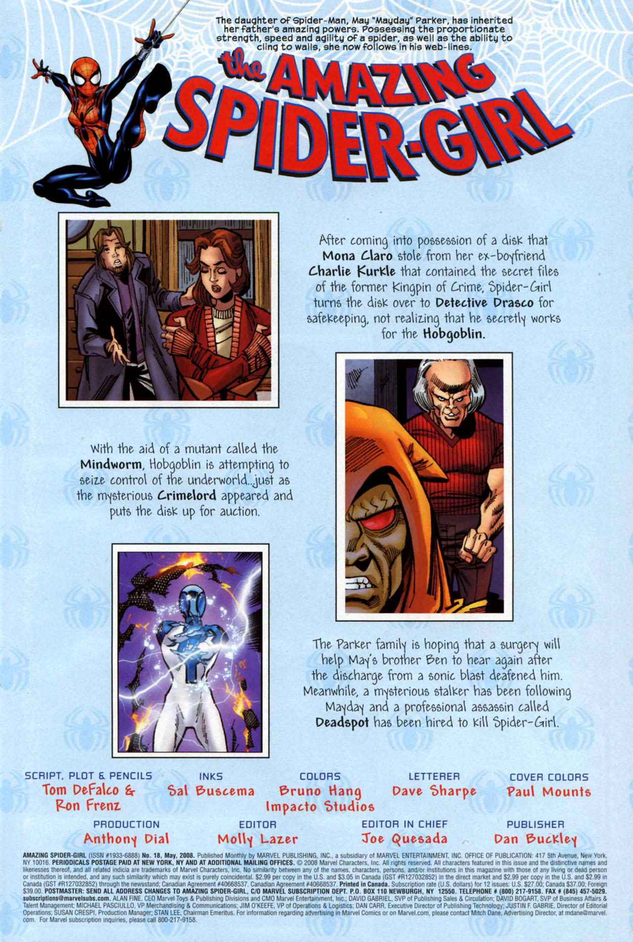Read online Amazing Spider-Girl comic -  Issue #18 - 4