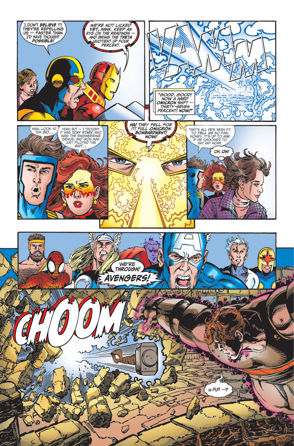 Read online Avengers (1998) comic -  Issue #25 - 18