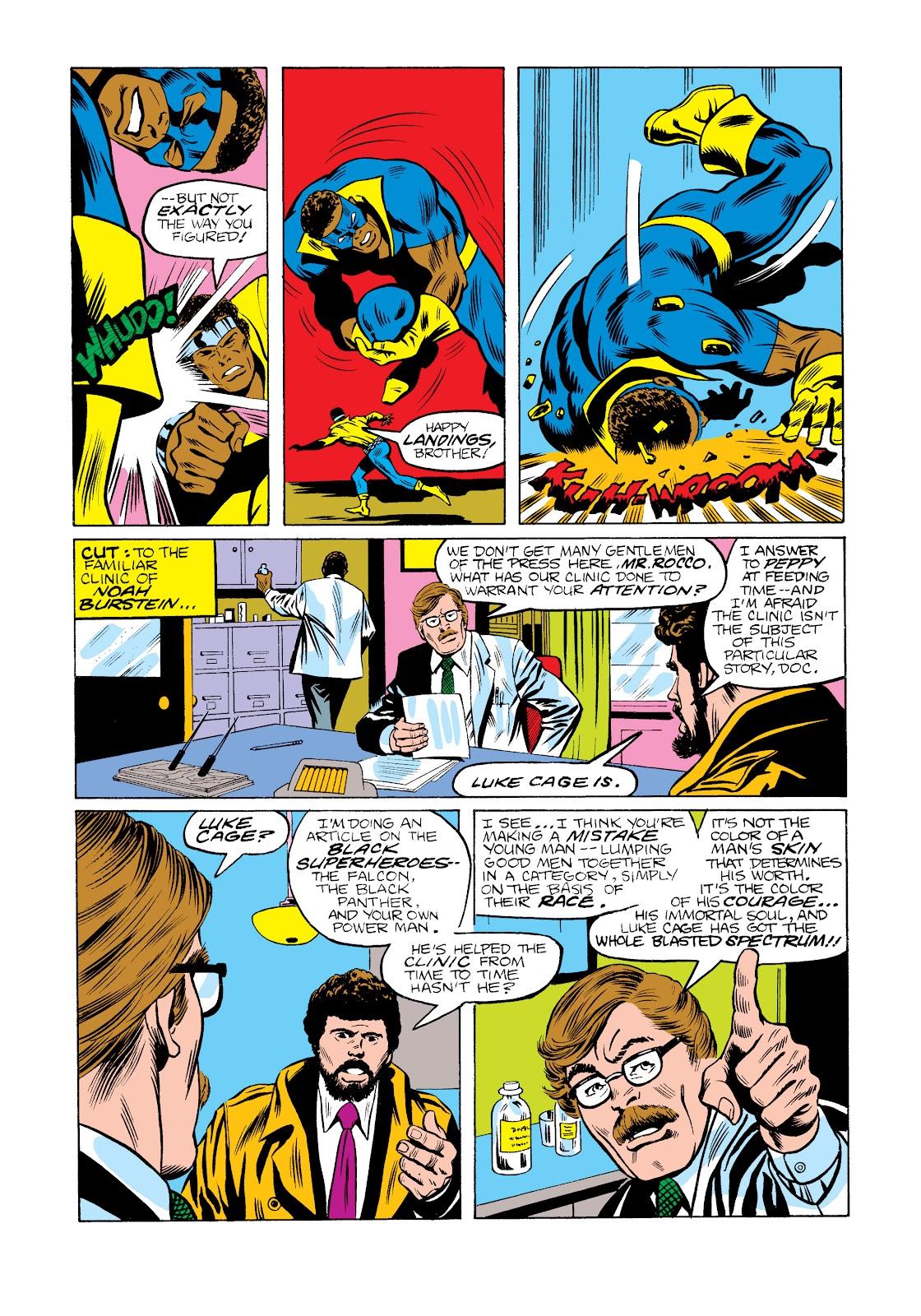 Read online Marvel Masterworks: Luke Cage, Power Man comic -  Issue # TPB 2 (Part 2) - 56
