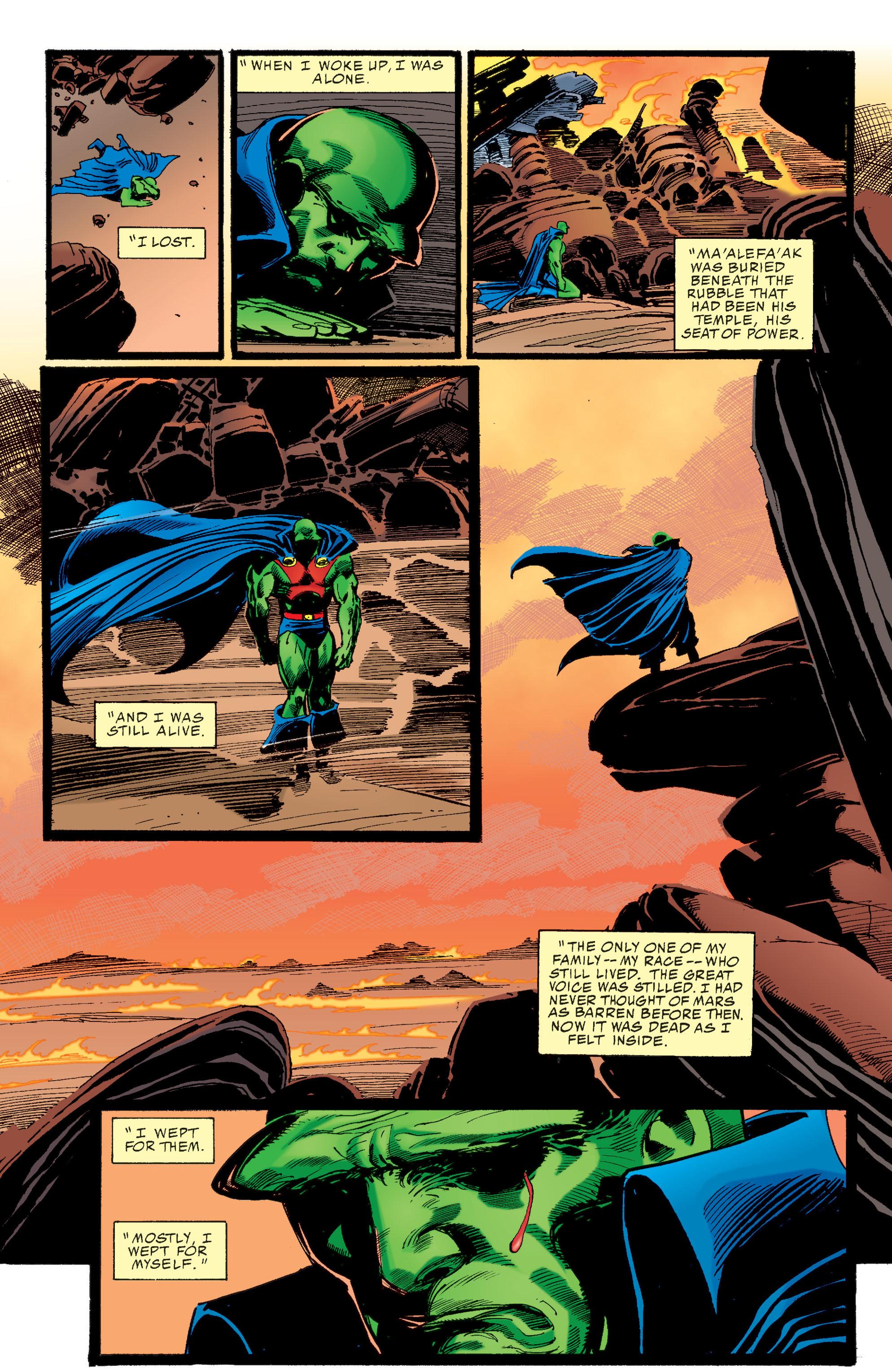 Read online Martian Manhunter: Son of Mars comic -  Issue # TPB - 18
