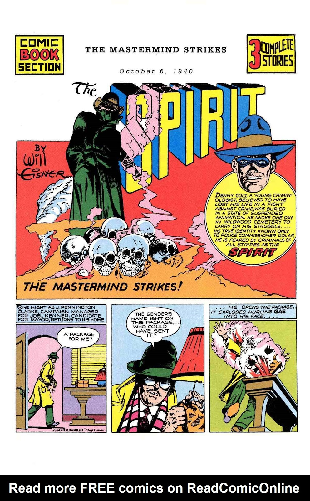Read online Will Eisner's The Spirit Archives comic -  Issue # TPB 1 (Part 2) - 28