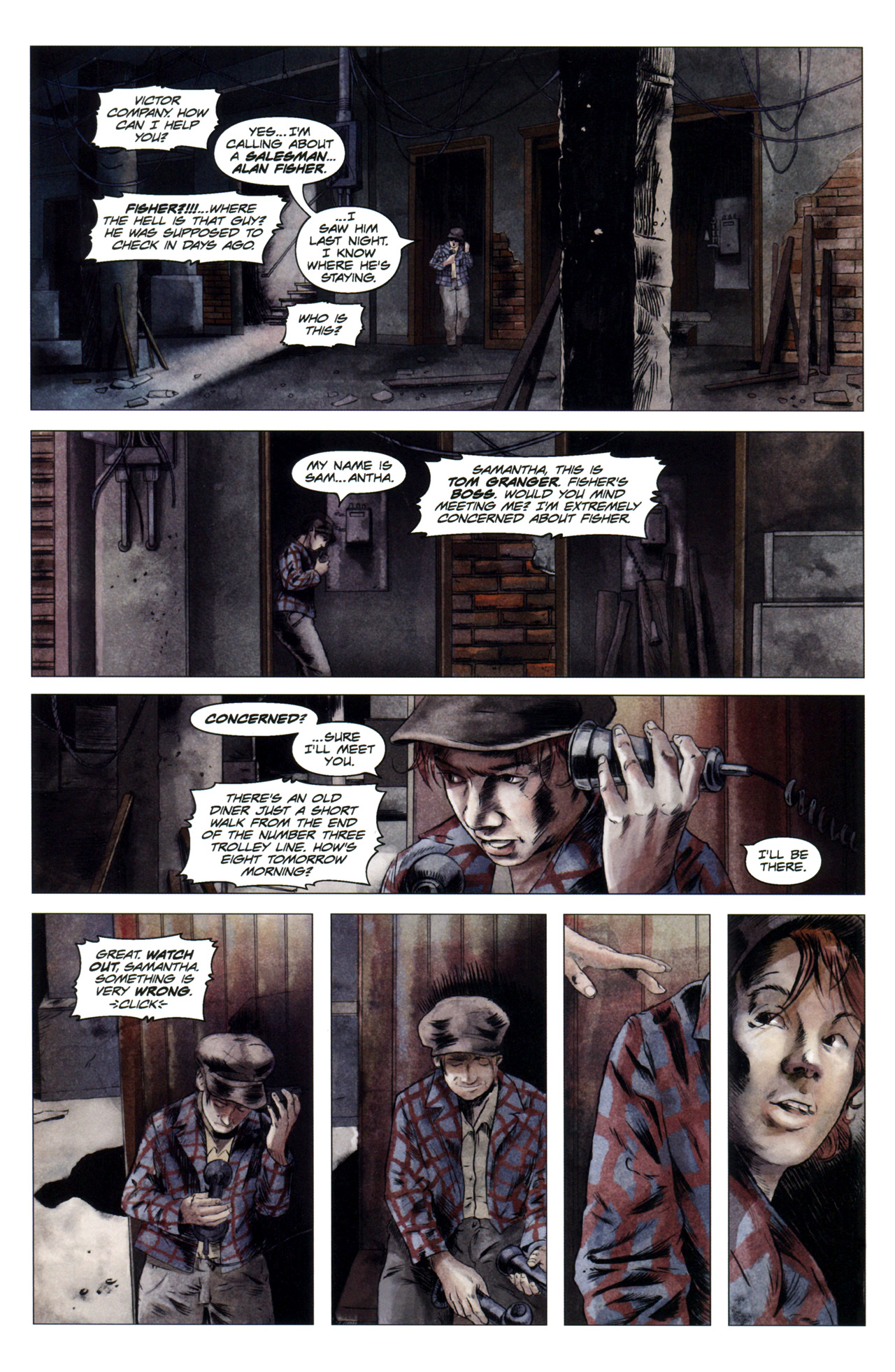 Read online Severed comic -  Issue #4 - 4