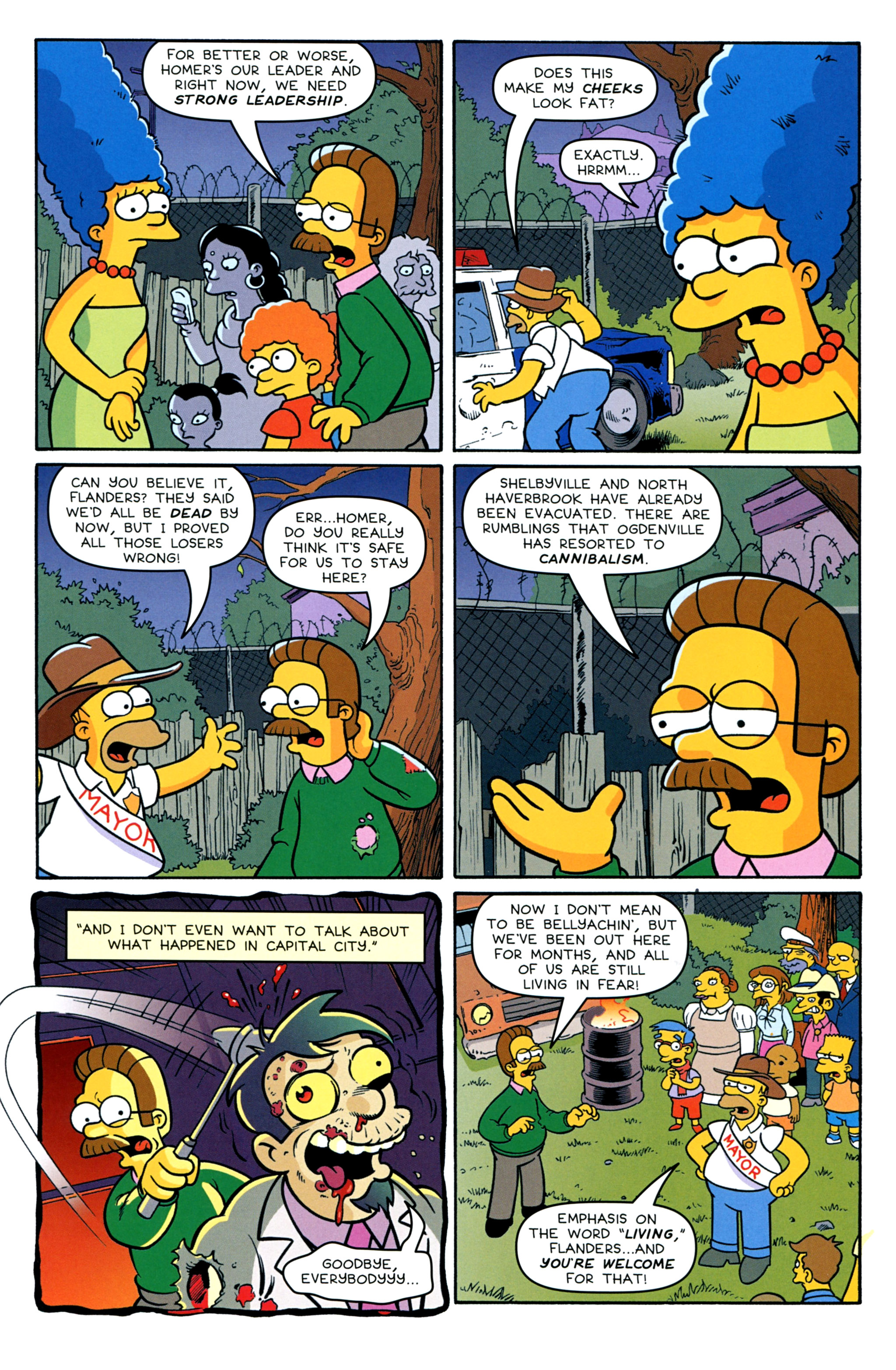 Read online Treehouse of Horror comic -  Issue #20 - 15