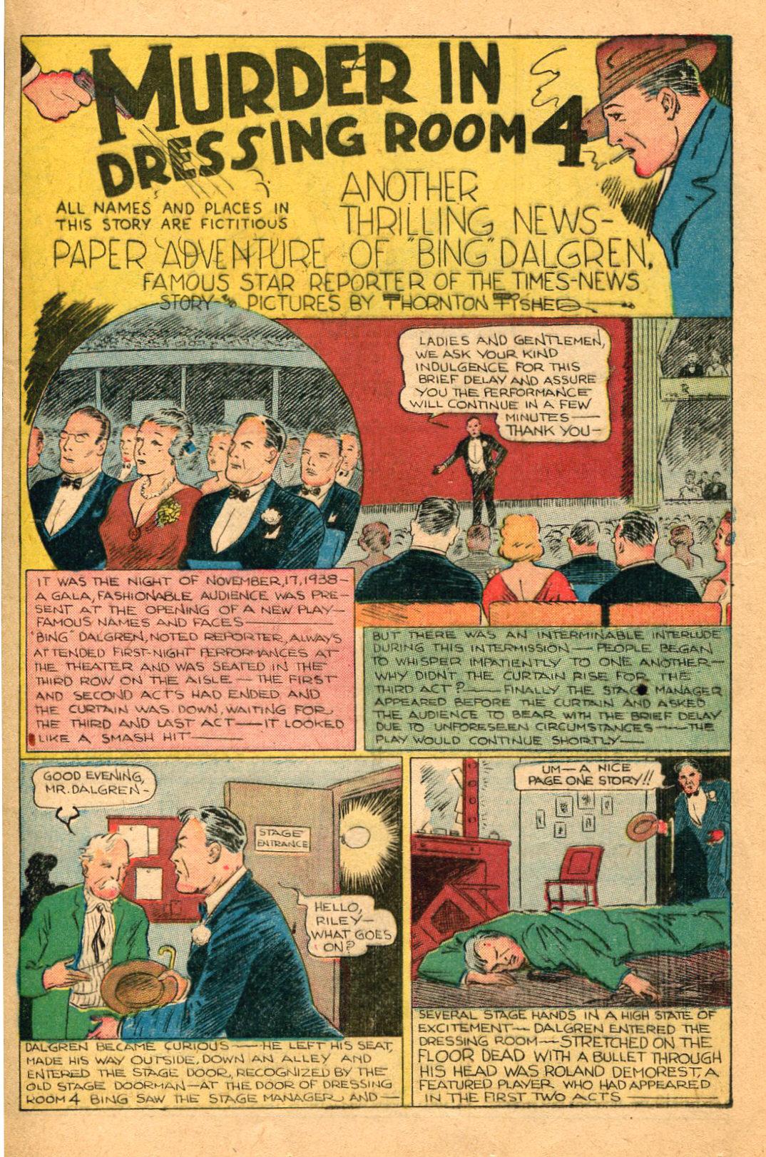 Read online Shadow Comics comic -  Issue #60 - 31