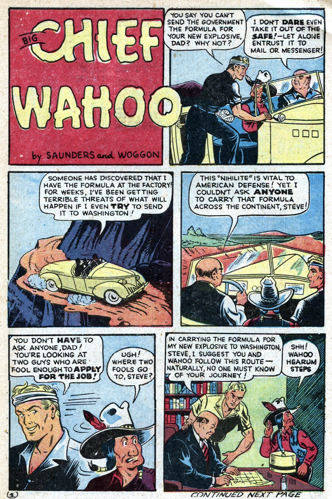 Read online Famous Funnies comic -  Issue #128 - 41