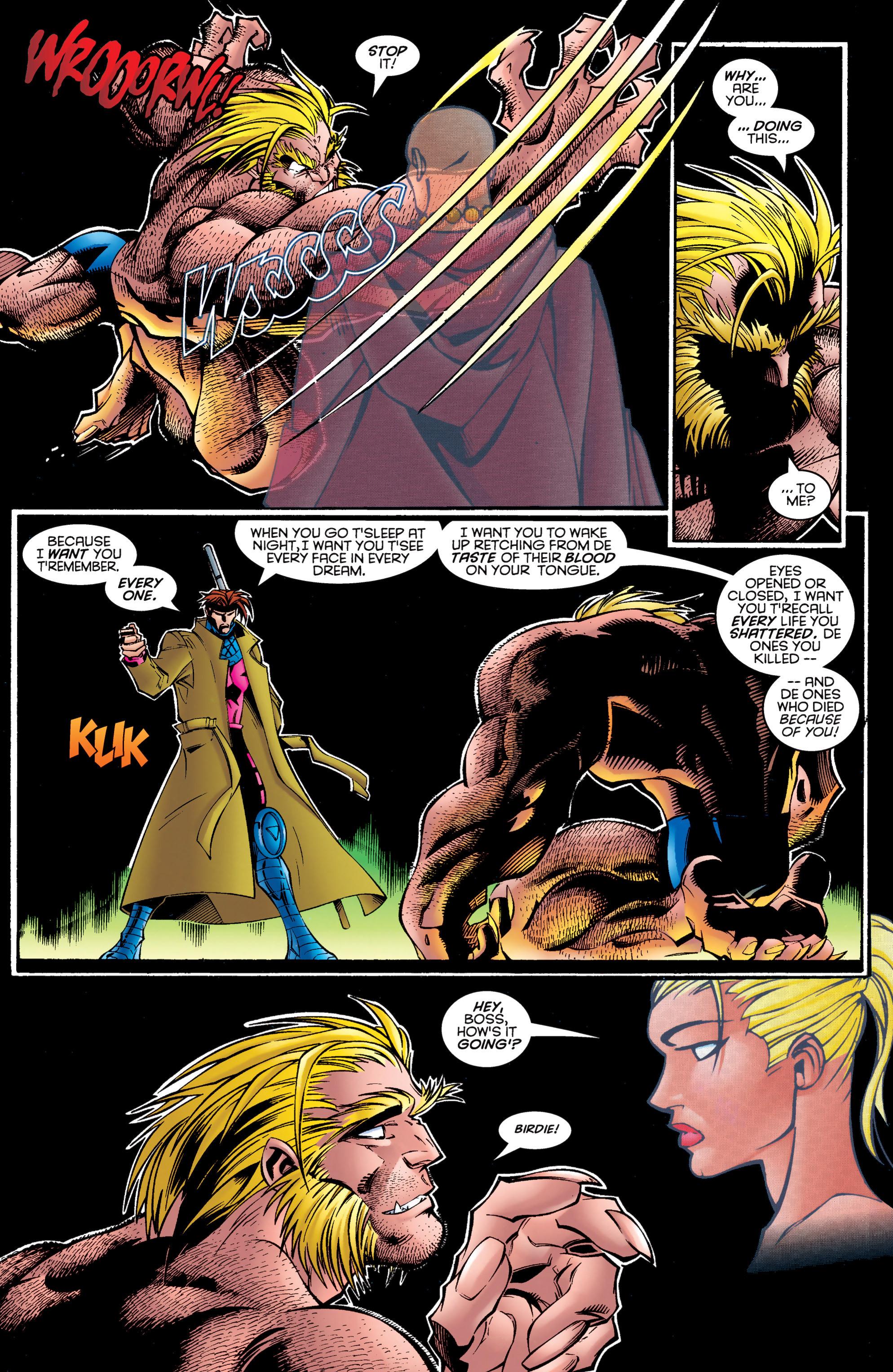 Read online Uncanny X-Men (1963) comic -  Issue #326 - 17