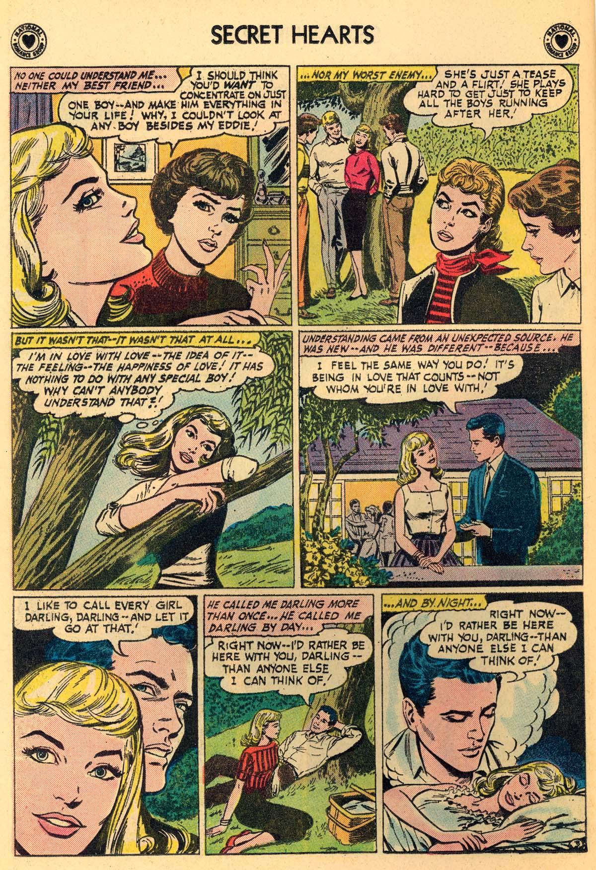 Read online Secret Hearts comic -  Issue #66 - 16