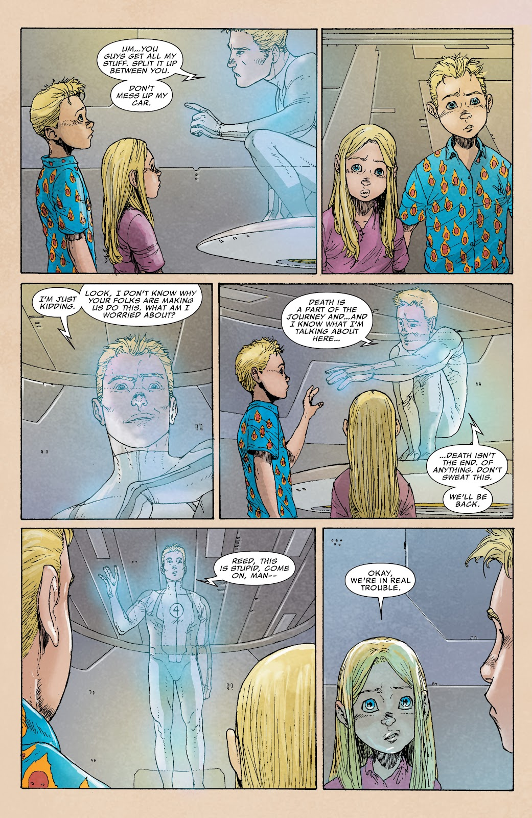 Read online Age of Ultron Companion comic -  Issue # TPB (Part 1) - 54