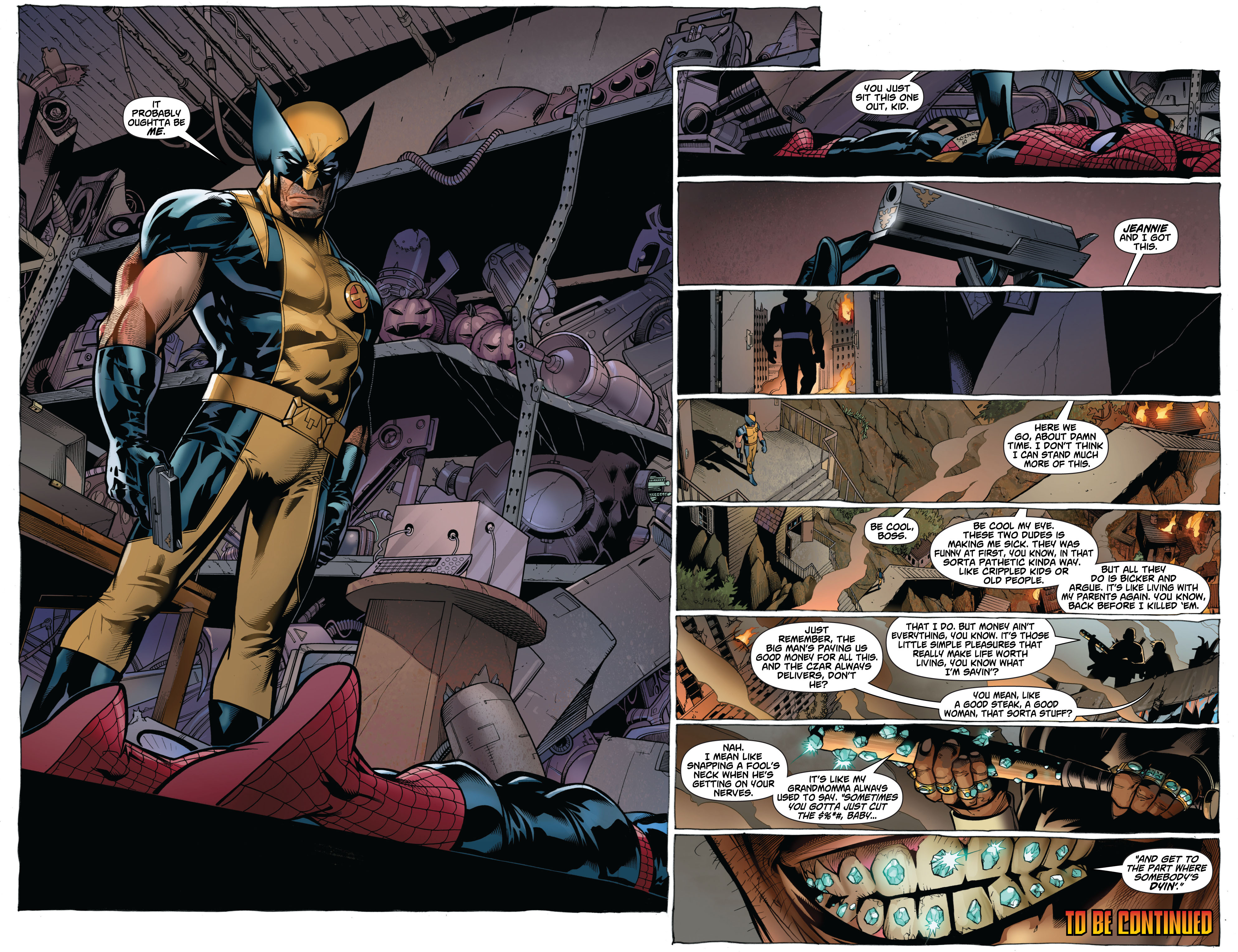 Read online Astonishing Spider-Man & Wolverine comic -  Issue #2 - 21
