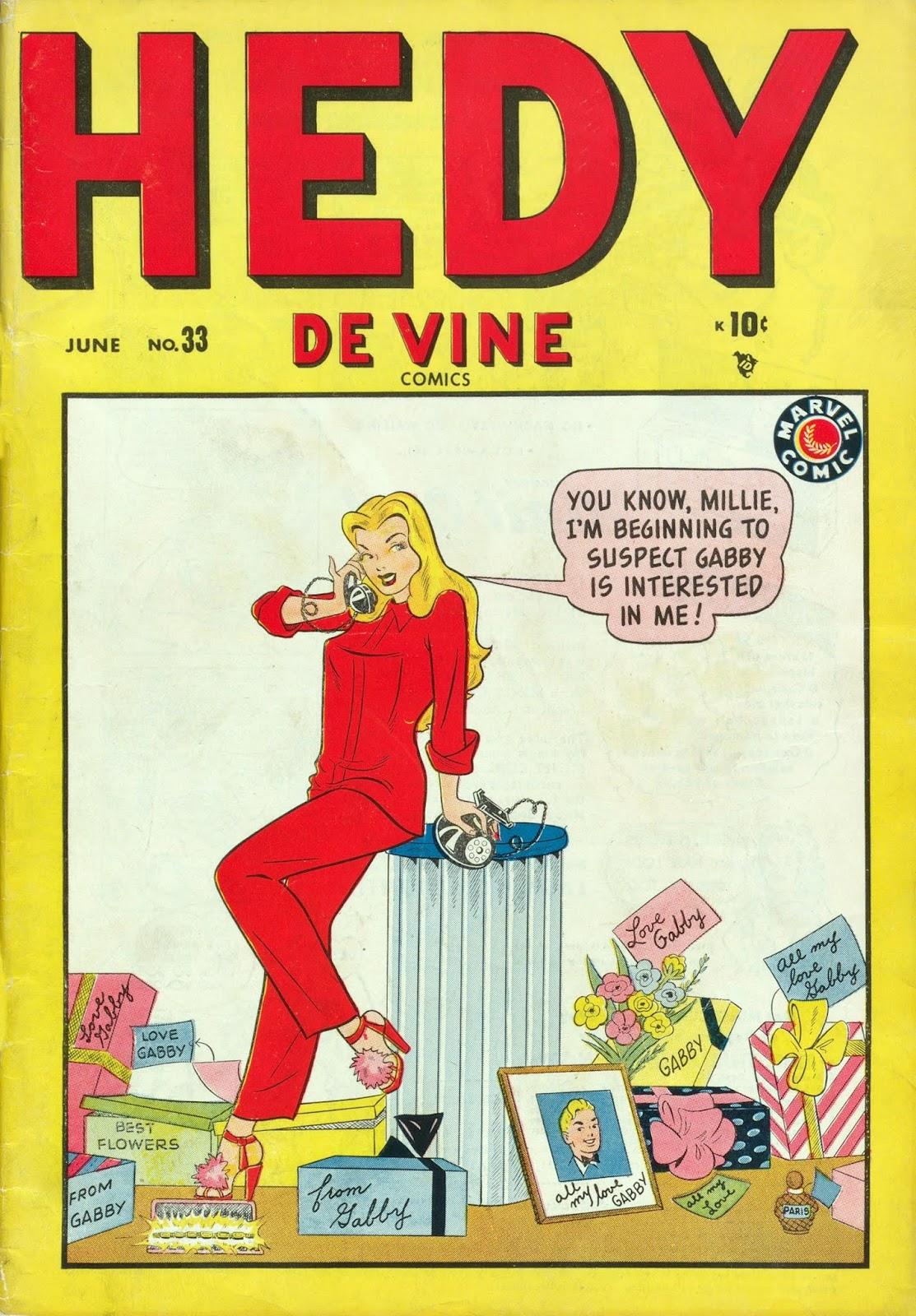 Hedy De Vine Comics issue 33 - Page 1