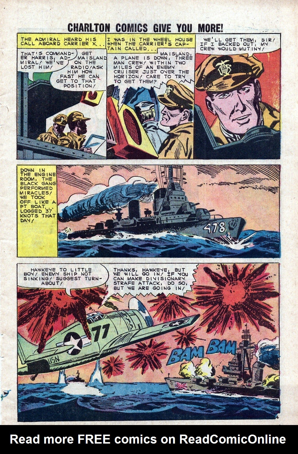 Read online Fightin' Navy comic -  Issue #94 - 7