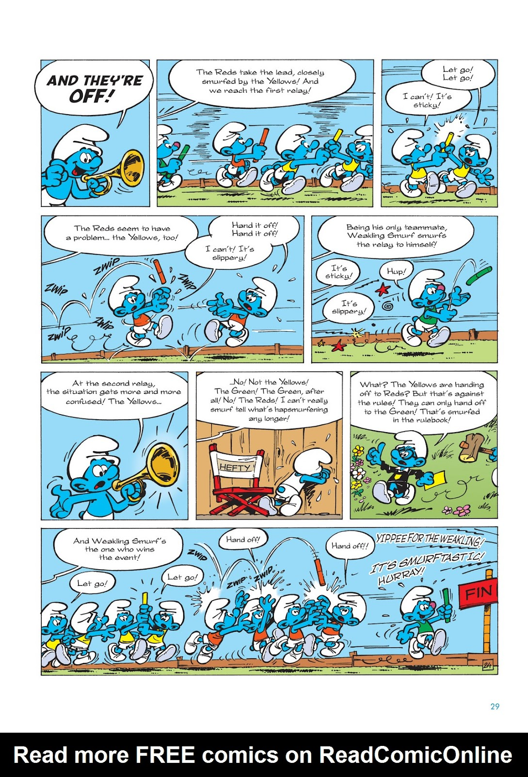 Read online The Smurfs comic -  Issue #11 - 29