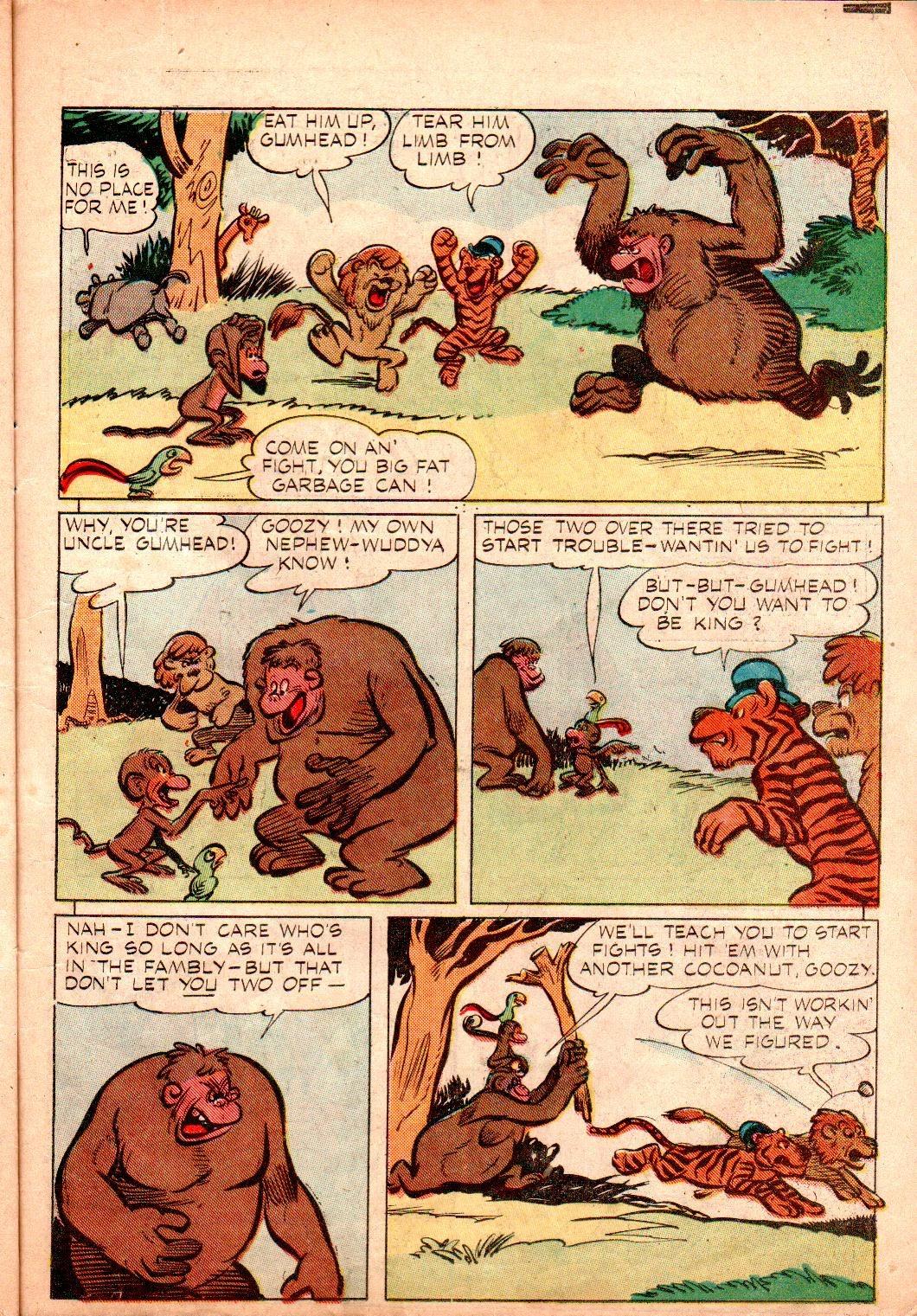 Read online Animal Comics comic -  Issue #19 - 35