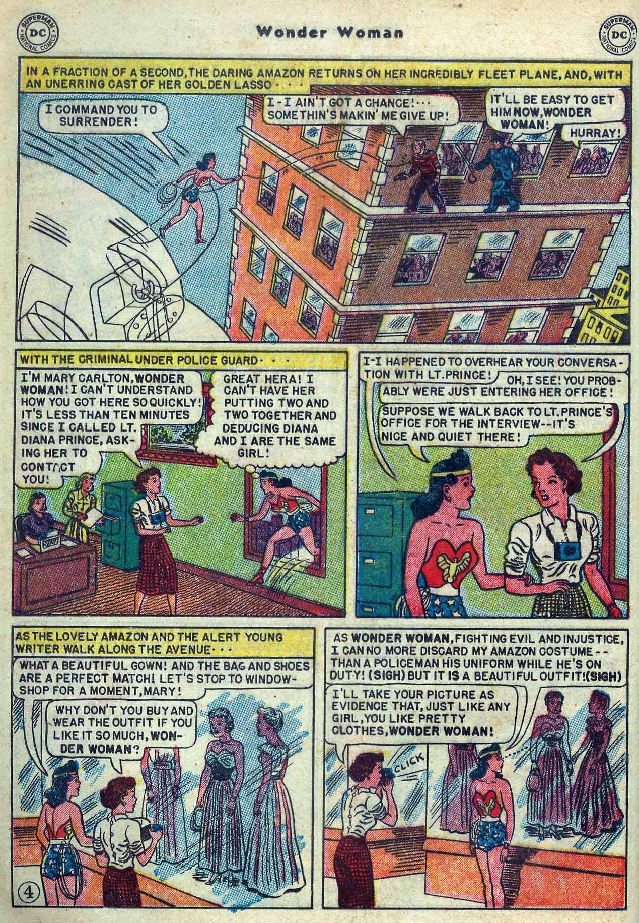 Read online Wonder Woman (1942) comic -  Issue #53 - 18