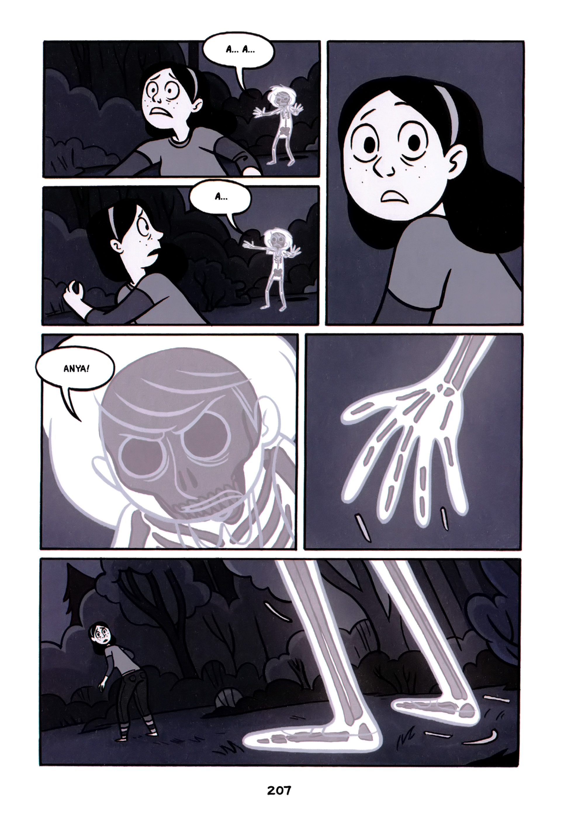 Read online Anya's Ghost comic -  Issue #1 - 208