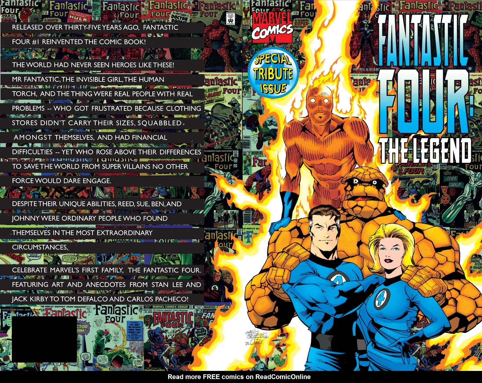 Read online Fantastic Four: The Legend comic -  Issue # Full - 2