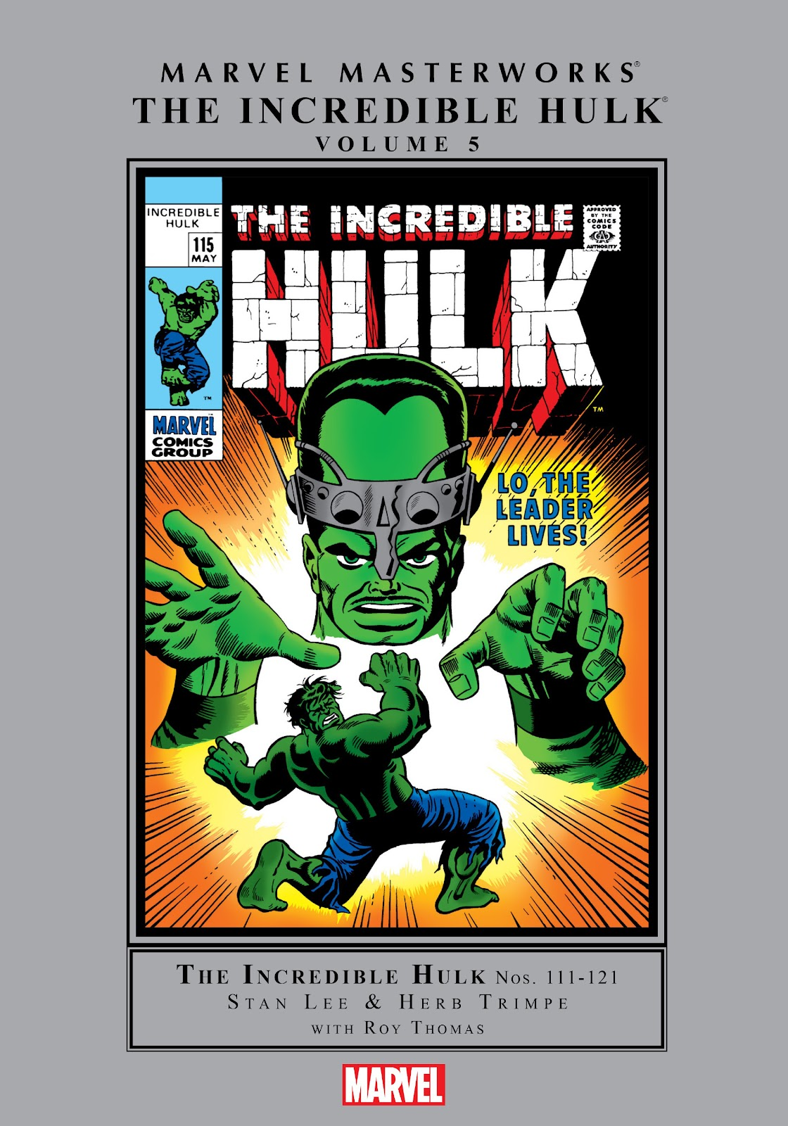 Read online Marvel Masterworks: The Incredible Hulk comic -  Issue # TPB 5 (Part 1) - 1