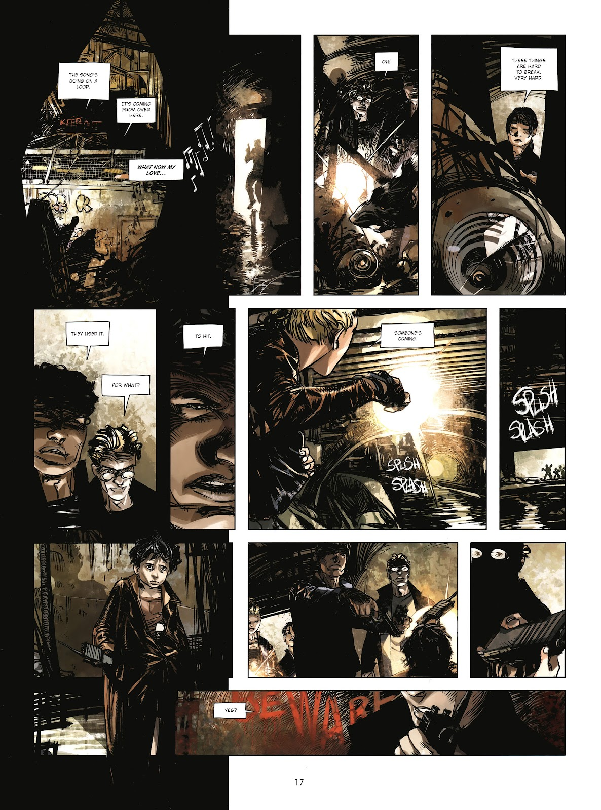 Read online Cutting Edge (2013) comic -  Issue #4 - 14