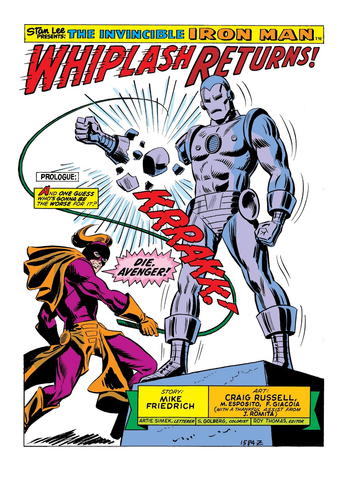 Read online Marvel Masterworks: The Invincible Iron Man comic -  Issue # TPB 9 (Part 2) - 75