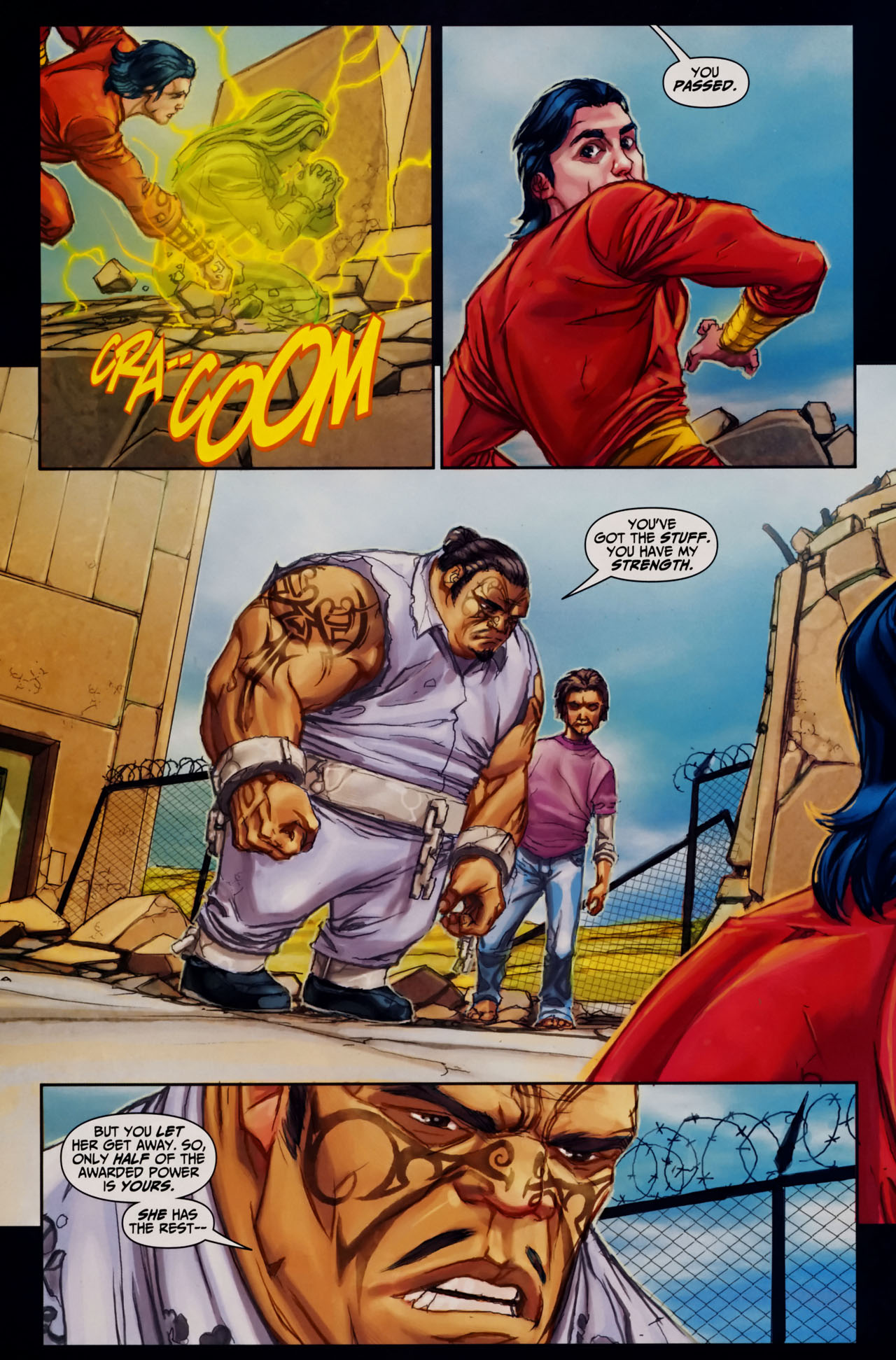Read online Trials of Shazam comic -  Issue #7 - 21