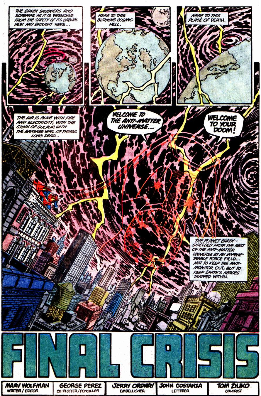 Crisis on Infinite Earths (1985) 12 Page 4