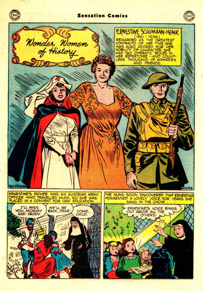 Read online Sensation (Mystery) Comics comic -  Issue #88 - 31