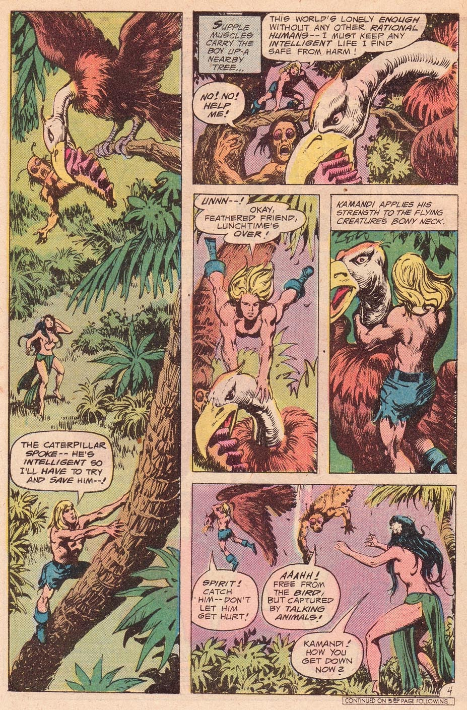 Kamandi, The Last Boy On Earth issue 54 - Page 6